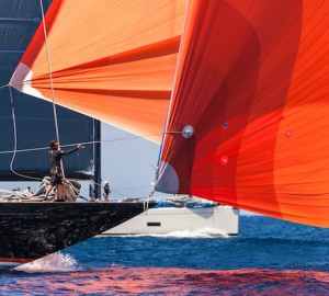 Sailing yacht Firefly took the overall regatta title with an impressive 1-1-1-1 scoreline Jeff Brown | Superyacht Media