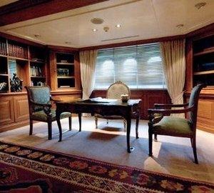 Office On Yacht SAVARONA