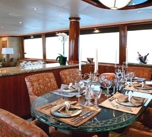 Eating/dining Saloon On Board Yacht ENDLESS SUMMER