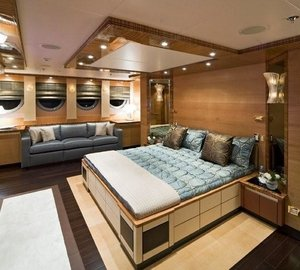 Main Master Cabin On Yacht HOKULANI