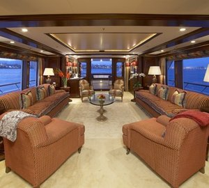 Premier Saloon On Yacht TELEOST