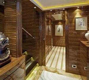Hall Aboard Yacht MIA RAMA