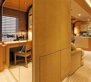 VIP Office Aboard Yacht INFINITE SHADES