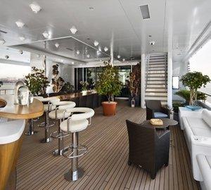 Drinks Bar On Board Yacht SAMAR