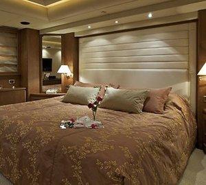 Main Master Cabin Aboard Yacht LADY ELLEN