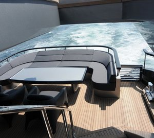 Premier Deck Aft Aboard Yacht RL NOOR