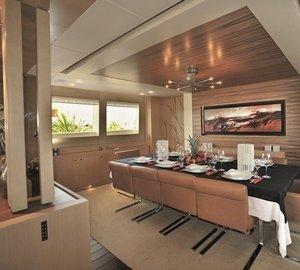 Dining Zone On Yacht ESPRESSO