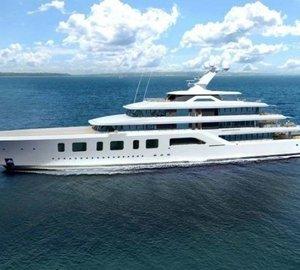 The 92m Yacht AQUARIUS