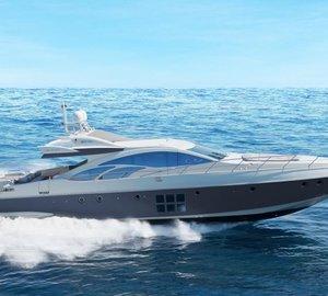 Azimut yacht NAMI - Under way