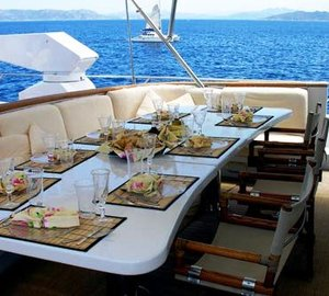 Benetti Yacht INDIA -  Sundeck Al Fresco Dining