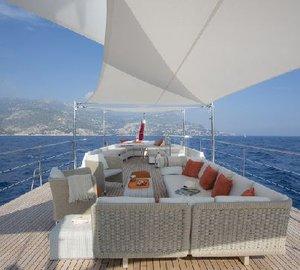 Classic Yacht SULTANA -  Sundeck