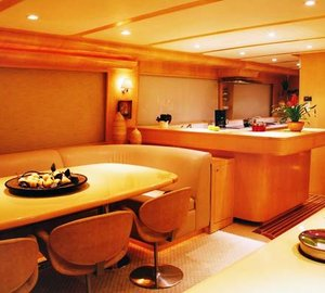 Eagles Nest -  Dining Salon and Galley