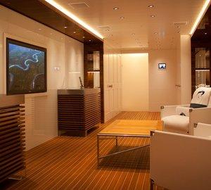 Luxury yacht ODESSA II