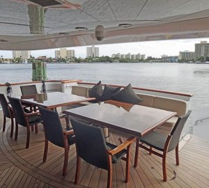MY CLAIRE - Main aft deck