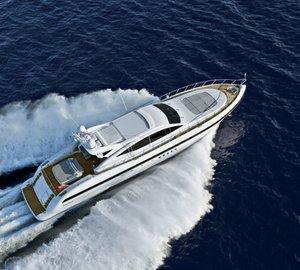 Motor yacht KAWAI -  From Above