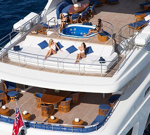 Motor yacht MISCHIEF - Aerial view