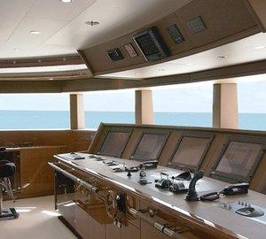 Oceanco Motor Yacht ALFA NERO - The Bridge