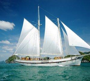 RAJA LAUT Under Sail