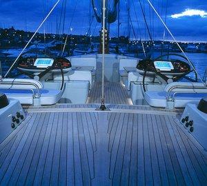 Sailing yacht SILVERTIP- On Deck