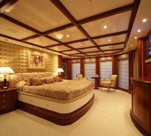 Superyacht OCEANOS -  Master Cabin