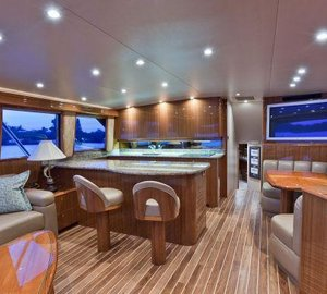 Viking 64 yacht BAREFOOT -  Dining and Galley