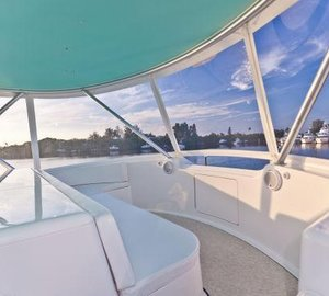 Viking 64 yacht BAREFOOT -  Flybridge