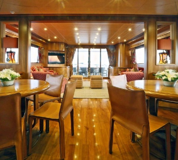 Ouranos The luxuriously simple 50m Admiral C Force yacht