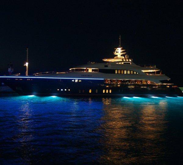 Under Water Lighting Aboard Yacht Ou0027NEIRO & ONEIRO Yacht Charter Details Lamda Shipyards   CHARTERWORLD ... azcodes.com