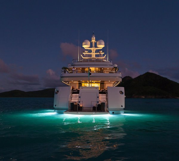 Under Water Lighting On Yacht ROMA & ROMA Yacht Charter Details VSY Viareggio Superyachts ... azcodes.com