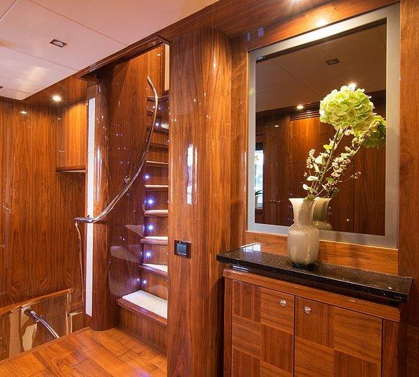 Foyer Luxury Yachts : Oasis foyer luxury yacht browser by charterworld