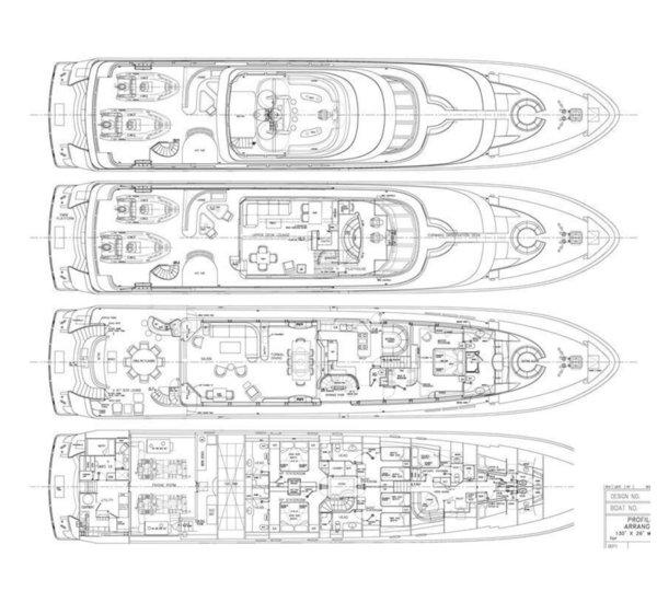 William garden image gallery luxury yacht browser by for William garden boat designs