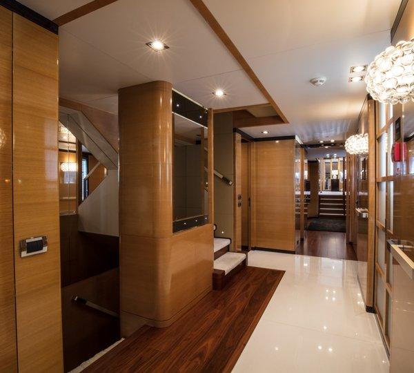 Foyer Luxury Yachts : Yacht palmarina by orkun foyer luxury browser
