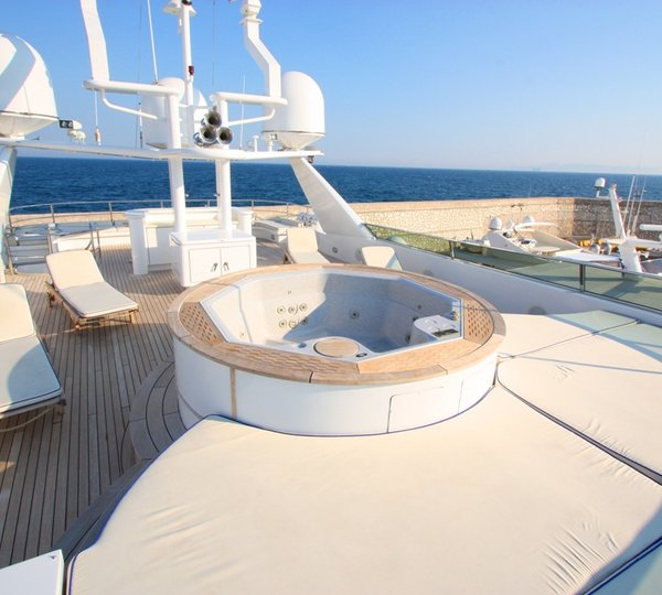 Ouranos 50m charter yacht by Admiral Yachts  Super Yachts