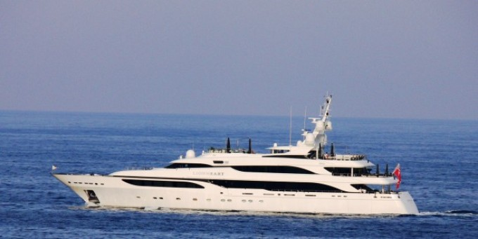 Yacht LIONHEART - Image Courtesy of LiveYachting