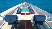 Sailing Yacht MITseaAH flybridge - Image by Pendennis