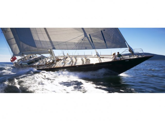 Yacht Scheherazade Sailing - Image by Hodgdon Yachts