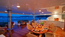 Yacht SORCHA Aft Deck - Image by Northern Marine