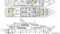 Yacht SORCHA Layout - Drawing by Zetzer Design