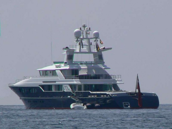 Yacht T6 - Image Courtesy of Solent Waters