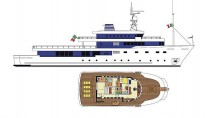 Yacht TRIBU - Plans by Mondomarine