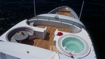 Yacht TRITON Flybridge Over - Image by Delta Marine