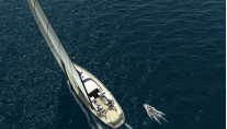 Sailing yacht VALQUEST courtesy of 3D Shipart