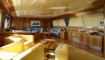 Yacht ALHENA Saloon - Image by Admiral Yachts CNL