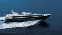 Yacht ALHENA Underway - Image by Admiral Yachts CNL