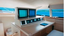 Sailing Yacht ALITHIA Deck Saloon - Image by yacht ALITHIA