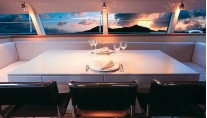 Sailing Yacht ALITHIA Dining - Image by yacht ALITHIA