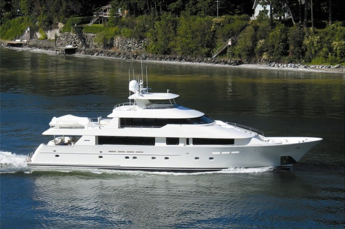 Yacht ANTARES Westport 130 - Image Courtesy of Wesport Yachts