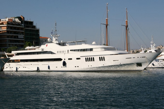Yacht ALWAELI - Image Courtesy of Yachtmati