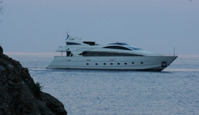 Athena - Photo Credit Riva Yachts