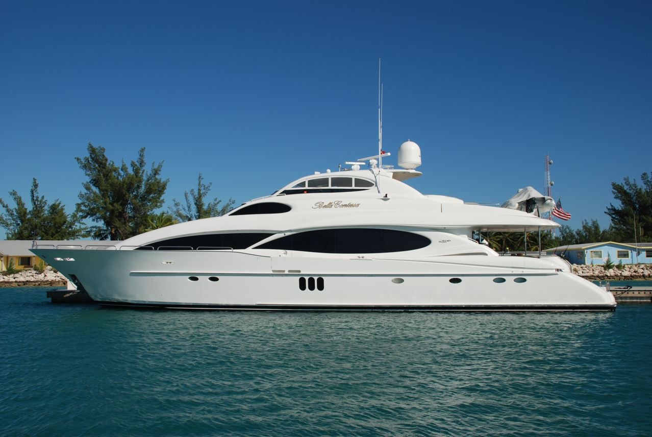 Yacht Bella Contessa Lazzara Yachts Charterworld Luxury